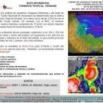 tormenta tropical impacta en Veracruz