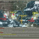 Clima de lluvias para Tamaulipas