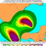 Huracan Ingrid en Veracruz y Tamaulipas