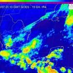 Pronostico del tiempo para el Golfo de Mexico