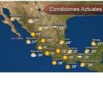 Pronostico del tiempo para Tamaulipas