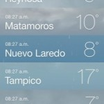Pronostico del tiempo para Tampico y Tamaulipas