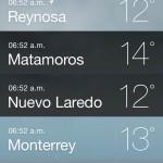 Pronóstico del tiempo para Tamaulipas