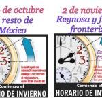 Cambio de Horario en México