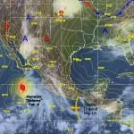 Temporada de huracanes, ubicación del huracán Dolores