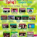 Fiestas de Abril Tampico 2016