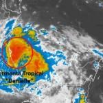 Tormenta Tropical Danielle en Golfo de México