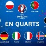 Inician los cuartos de final en la Euro Copa 2016
