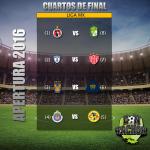 Partidos de la liguilla del futbol Mexicano, destacan Chivas vs América