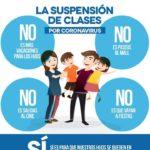 Suspenden clases en Tamaulipas por Coronavirus